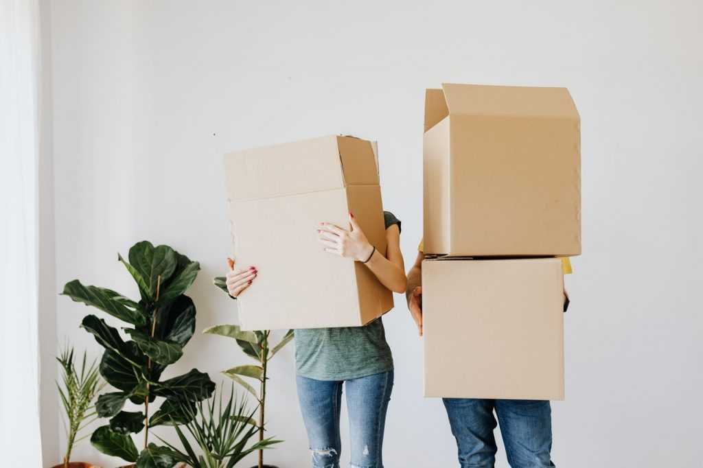moving boxes need to update estate plans